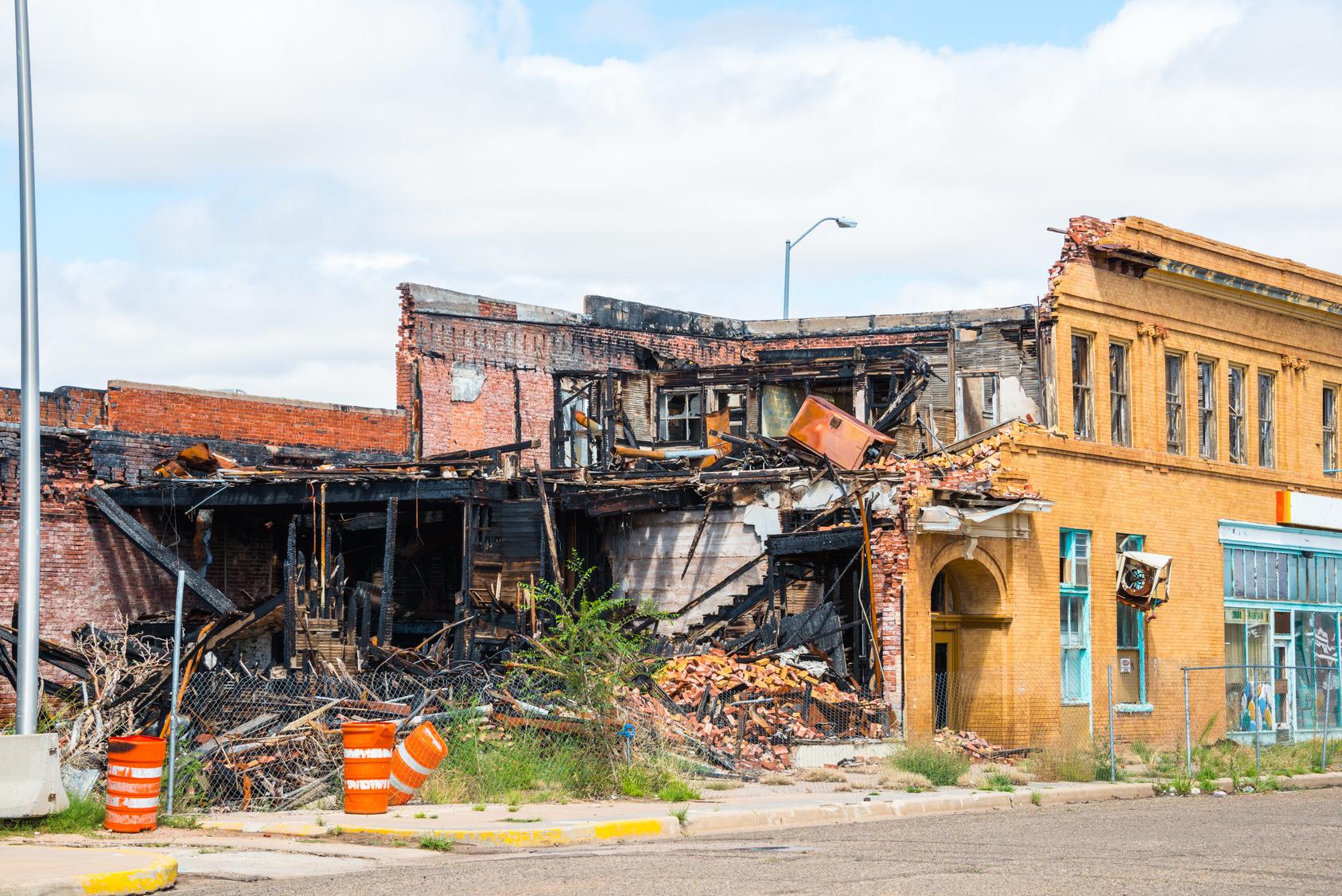 Commercial Fire Damage Restoration Anaheim CA
