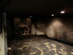 Dryco fire damage before picture
