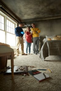 Smoke and Soot Damage Cleaning - College Station, TX