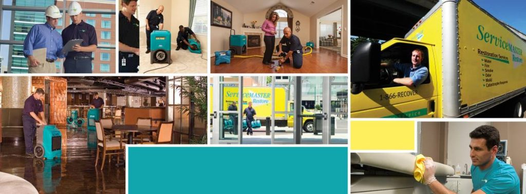 water damage restoration and cleanup in Dallas, TX by ServiceMaster Restoration by Century