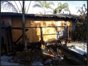 Fire Damage cleanup and restoration in Delano, CA