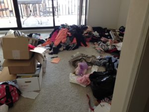 Hoarding cleaning needed in this Dover, NH apartment