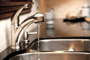 Dripping faucet to prevent water damage from frozen pipes in Duluth, MN