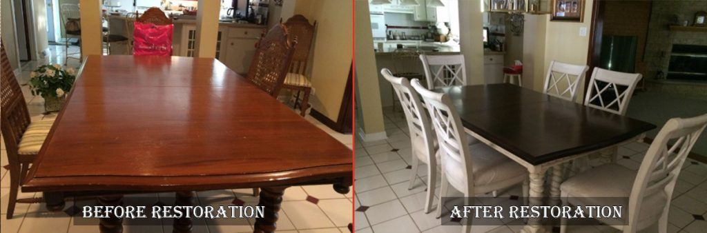 Wooden Table And Chair Restoration And Repair In Crystal Lake Il