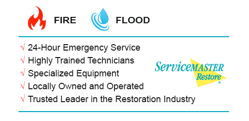 Water Damage Restoration - ServiceMaster Restoration by Century are the fire & flood experts in Hutto, Texas