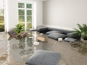 flood in brand new apartment
