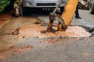 water sewage damage
