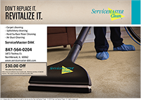 ServiceMaster DAK - Carpet Cleaning Coupon
