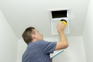 Checking air ducts