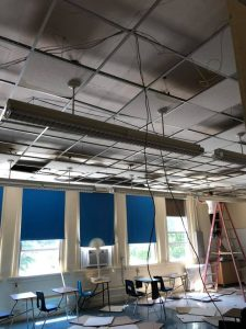 Jacksonville, IL disaster restoration and reconstruction services - school