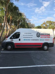Graystone restoration in New Port Richey, FL