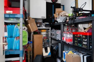 Cluttered Storage Room With Too Much Stuff