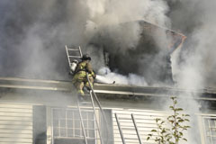 fire damage and smoke cleanup and restoration in Pasadena, CA