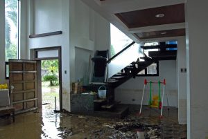 water damage restoration and cleanup in Peabody, MA