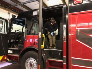 Firetruck Interior Cleaning