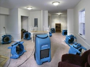water damage restoration in Quincy, IL