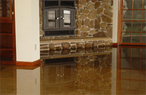 Water damage restoration professional services