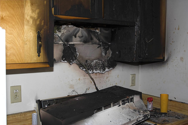 Kitchen Damage