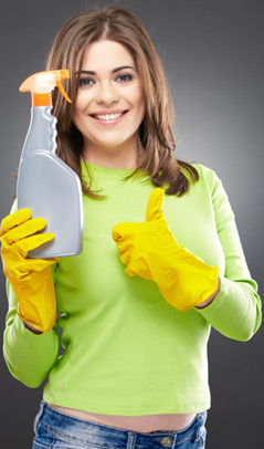 Environmentally safe carpet cleaning