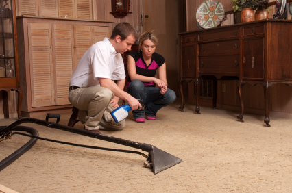 Carpet cleaning and restoration services