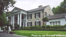 Elvis's Home Graceland Memphis TN