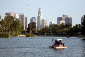 LA California - Echo Park Lake