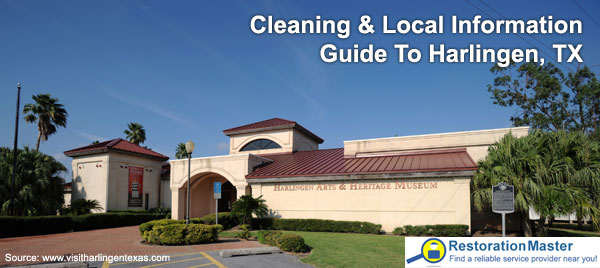Cleaning and Restoration Guide to Harlingen Texas