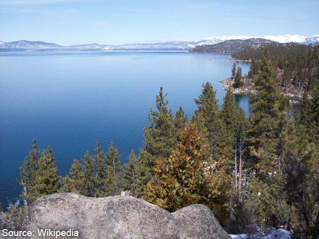 Lake Tahoe in Reno Nevada