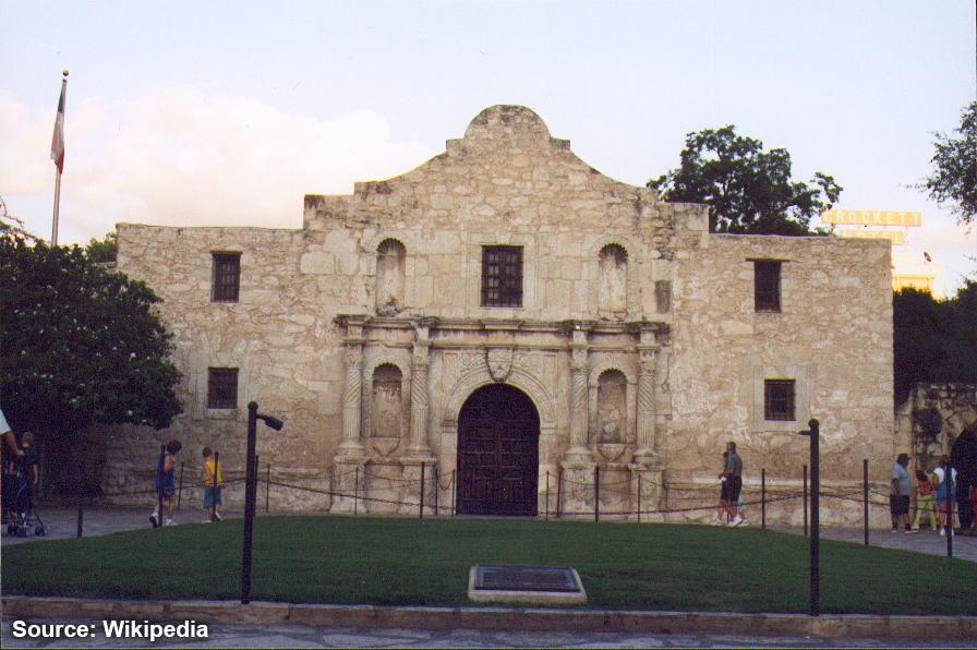 San Antonio TX the Alamo