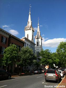Church Street in Frederick MD