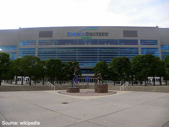 Energy Solutions Arena Utah Jazz Salt Lake City