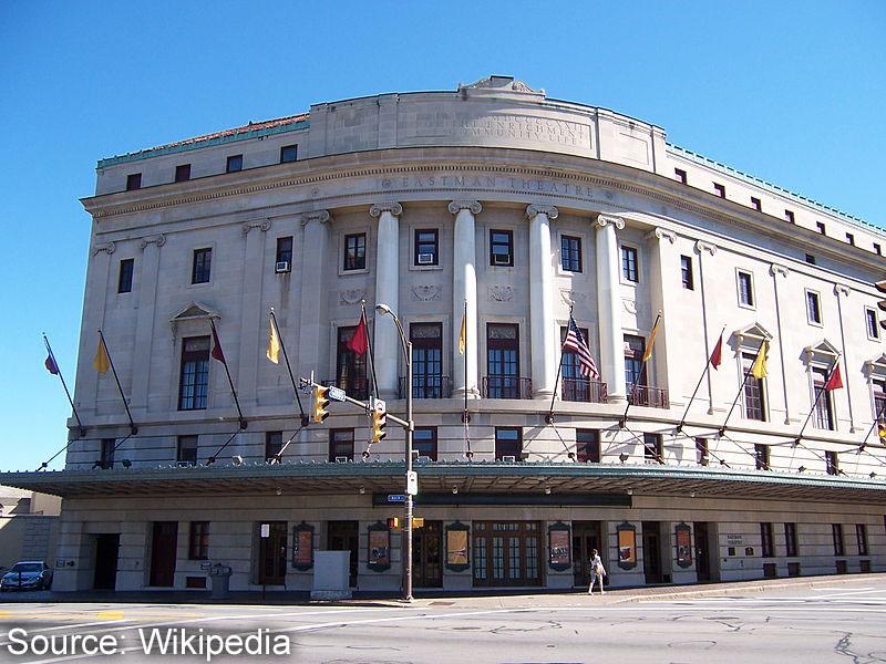 Rochester Eastman Theatre Exterior