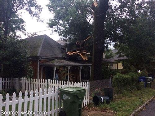 Storm Damage in Atlanta, GA