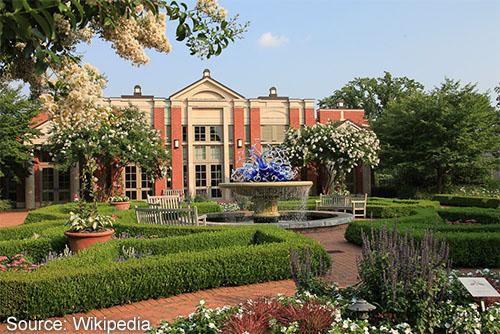Welcome Center of Atlanta Botanical Garden