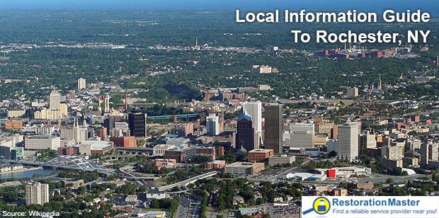 The city of Rochester, NY