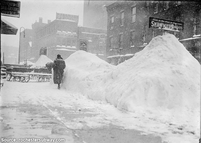 Rochester NY Snow Storm