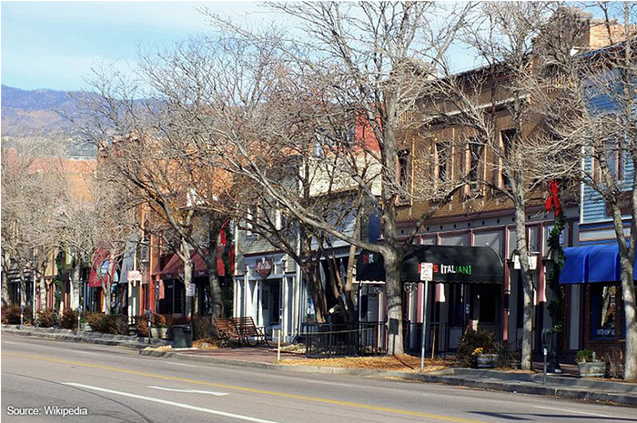 Colorado City Business District