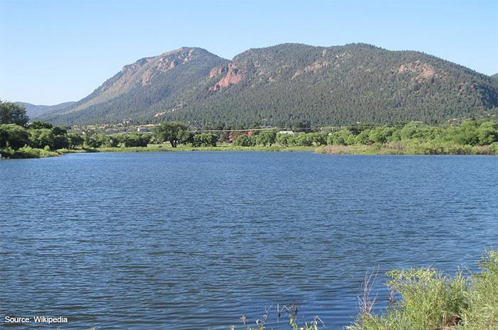 The lake at Palmer Lake CO