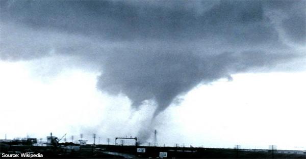 A tornado close to Dallas