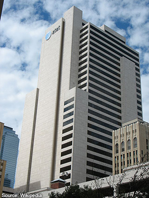 World headquarters of AT&T