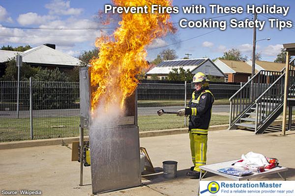 Kitchen Oil Fire