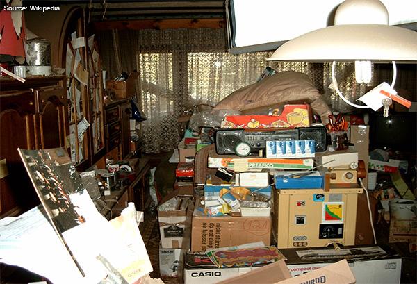 Hoarding Living Room