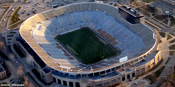 Notre Dame Stadium South Bend IN