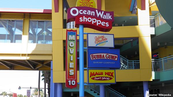 Ocean Walk Shoppers Daytona Beach FL