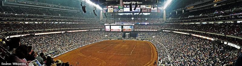 Reliant Stadium Houston Rodeo