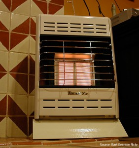 Use gas heaters in well-ventilated premises only.