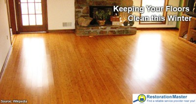 How to keep your floors clean during the winter?