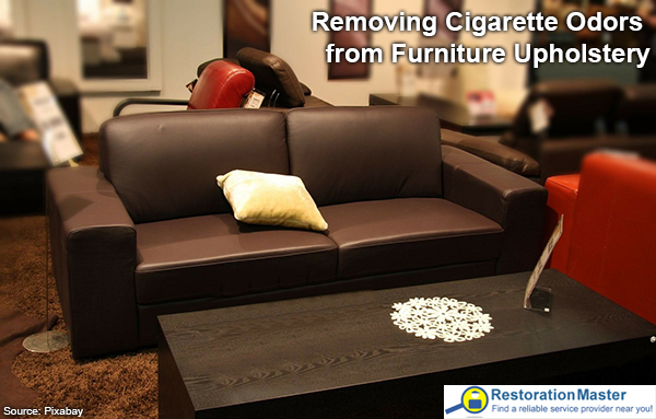 How To Remove Cigarette Odors from Furniture Upholstery