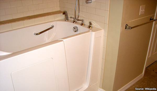 Handicap Accessible Bathtubs with cut outs