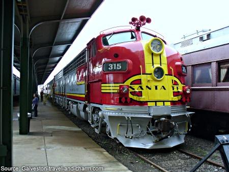 Galveston Island Railroad Museum and Terminal